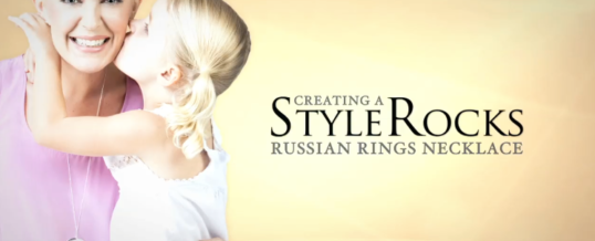 Creating a StyleRocks Russian Rings Necklace
