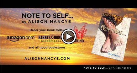 Book Trailer: Note To Self – Alison Nancye