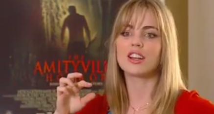 Meilssa George talks about Amityville Horror