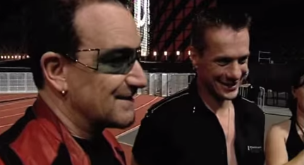 """U2 interview about the song 'One"""""""