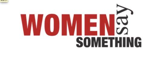 Women Say Something